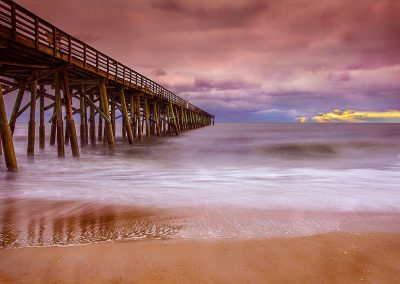 The Ominous Flagler Beach Pier